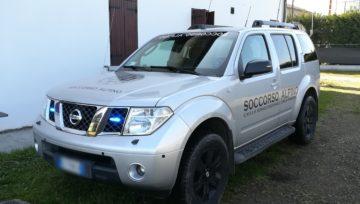 Nissan Pathfinder Soccorso Alpino