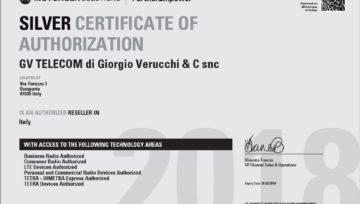 Certificato Argento Motorola!